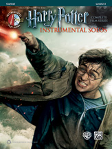 Harry Potter Instrumental Solos Complete Film Series (cl,CD)
