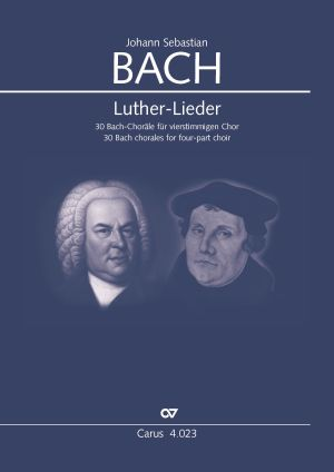 Luther-Lieder - 30 Bach chorales (SATB)