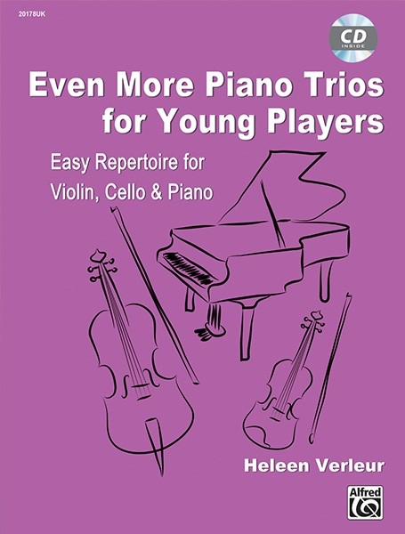 Even more piano trios for young players (vl,vc,pf)