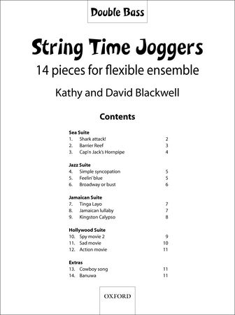 String Time Joggers (str orch)(cb)