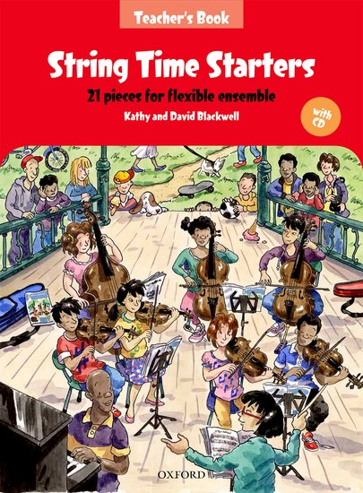 String Time Starters (str orch)(score+CD)