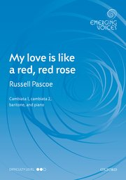 Emerging Voices: My love is like a red, red rose (3voices,pf)
