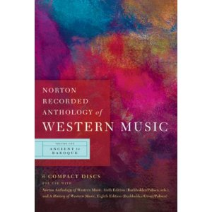 Norton Anthology of Western Music 1 (6th edition)(CDs)