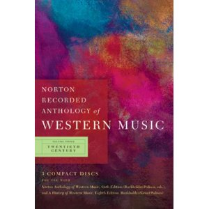 Norton Anthology of Western Music 3 (6th edition)(CDs)