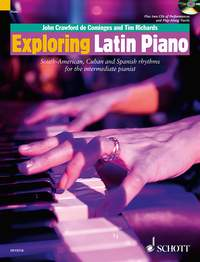 Exploring Latin Piano (pf+2CD)
