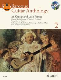 Baroque Guitar Anthology 2 (gu+CD)
