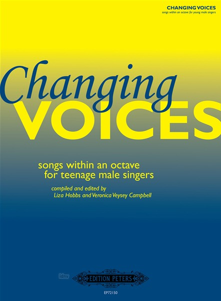 Changing voices, Songs for teenage male singers (cto,pf)
