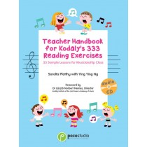 Teacher Handbook for Kodaly's 333 Reading Exercises (Poco Studio)