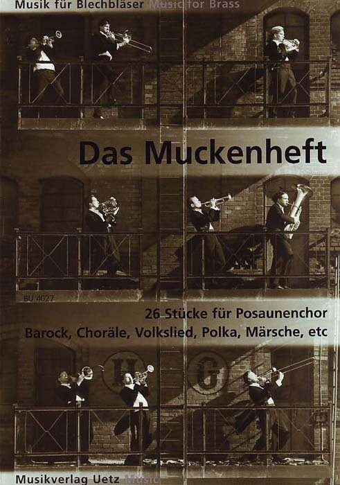 Muckenheft (brass quartet)(score,parts)