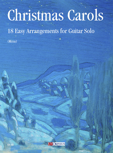 Christmas Carols: 18 easy arrangements for guitar solo (gu)