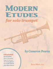 Modern etudes for solo trumpet (tr+CD)