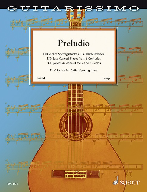 Preludio - 130 Easy Concert Pieces from 6 Centuries(gu)