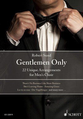 Gentlemen Only - 22 Unique Arrangements (TTBB)