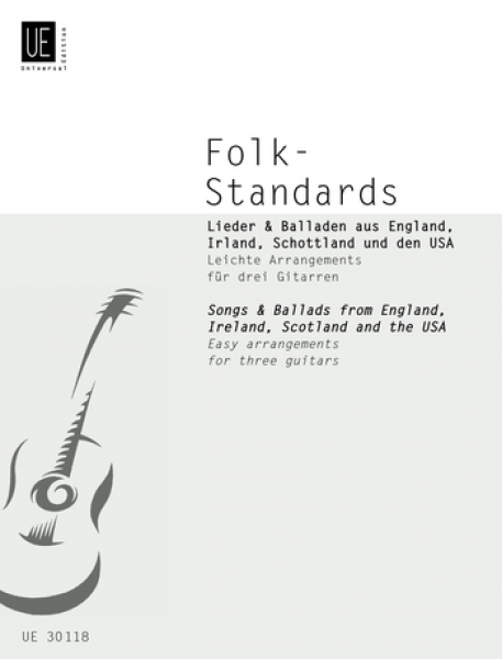Folk-Standards (Easy arrangements by K.Bruckner)(3gu)