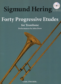 40 Progressive Etudes for Trombone (trb+CD)