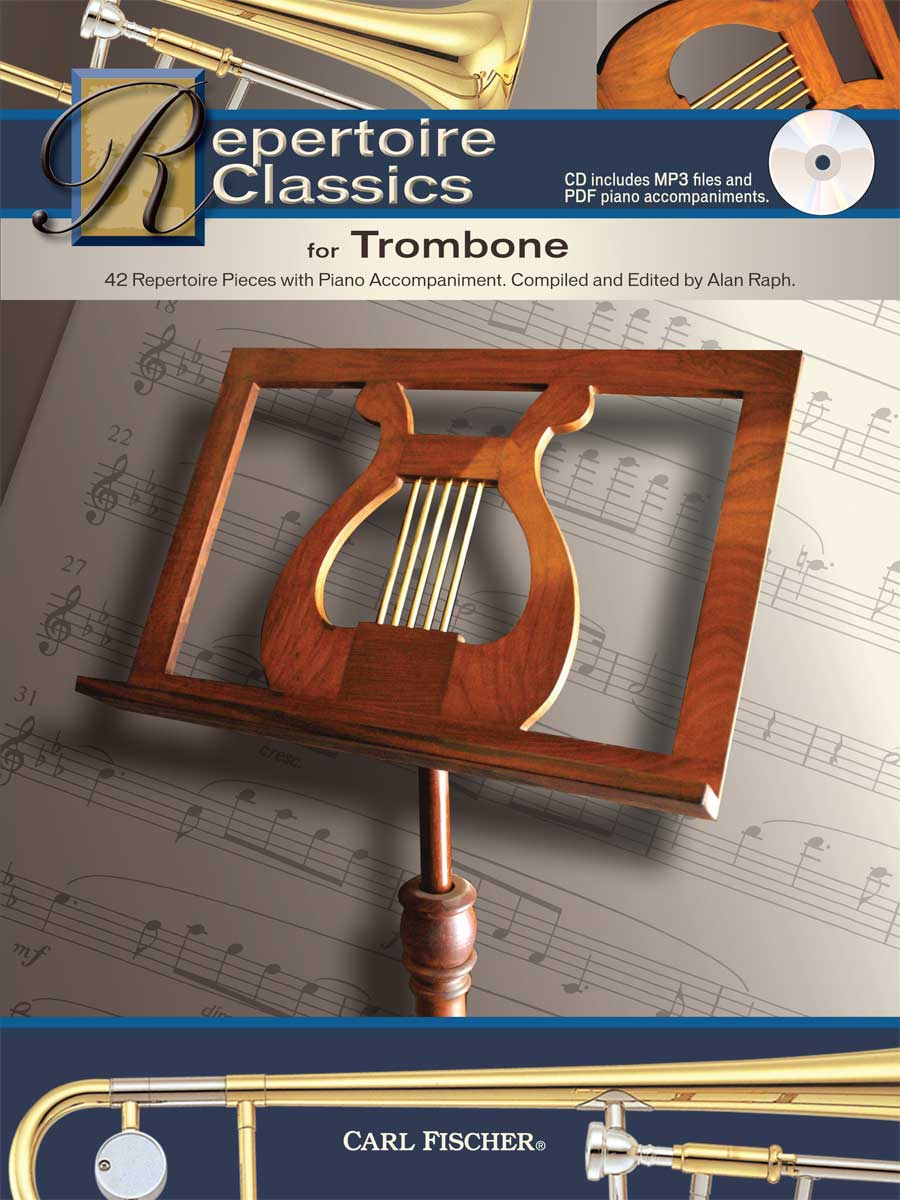 Repertoire Classics for Trombone (trb,pf+CD)