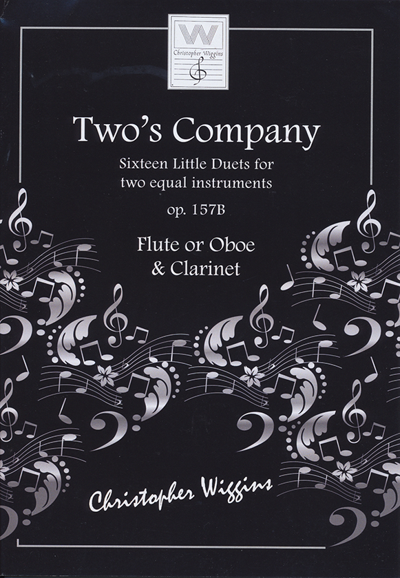 Two's Company - 16 Little Duets op 157b  (fl,cl)