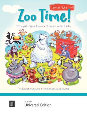 Zoo Time! 12 easy zoological pieces (cl,pf)