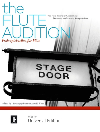 Flute Audition - the new essential companion (Wiese)(fl)